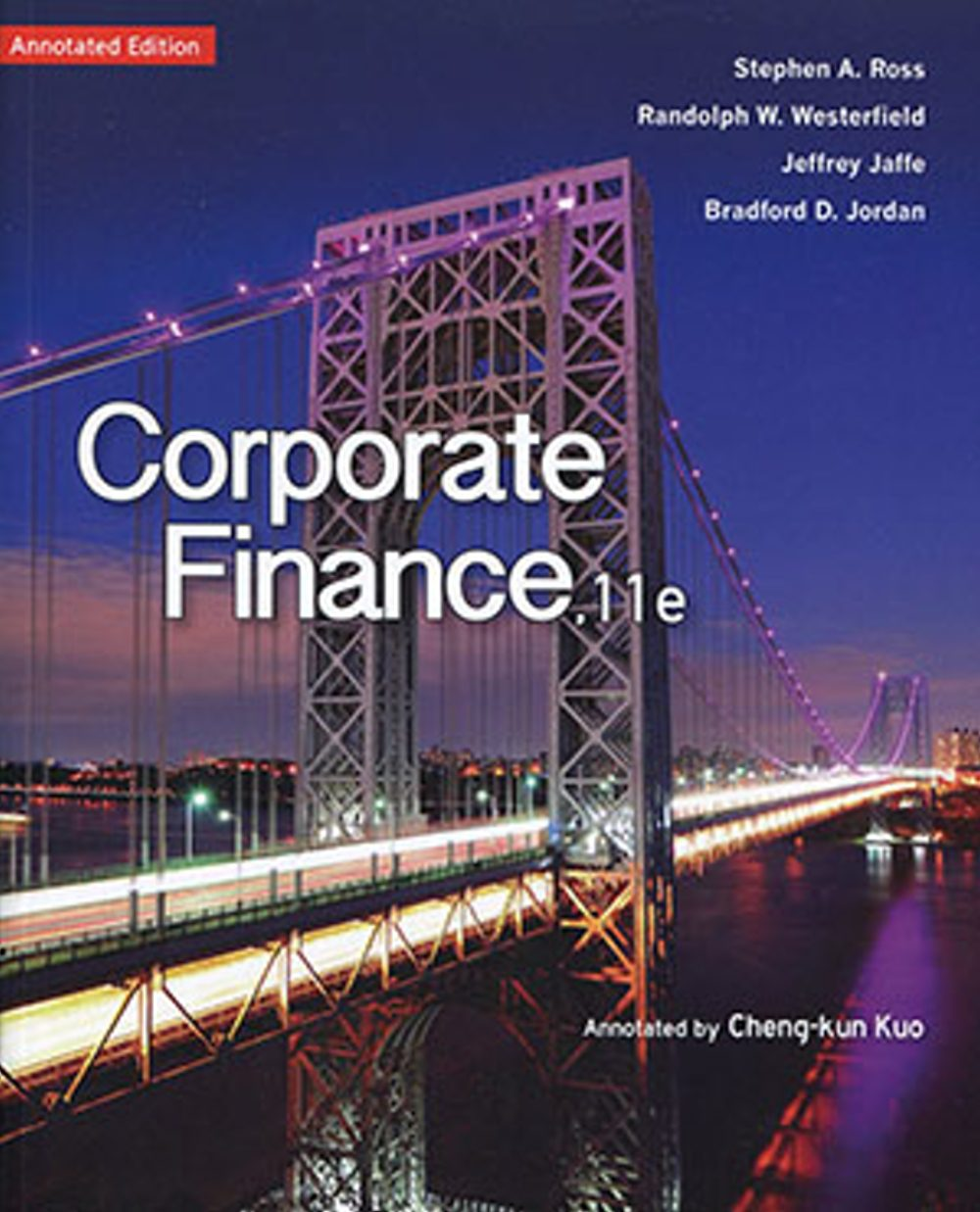 ross corporate finance 9e Selected material from fundamentals of corporate finance third edition richard a brealey bank of england and london business school stewart c myers.